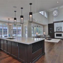 Open Concept Family Room with View of Backyard
