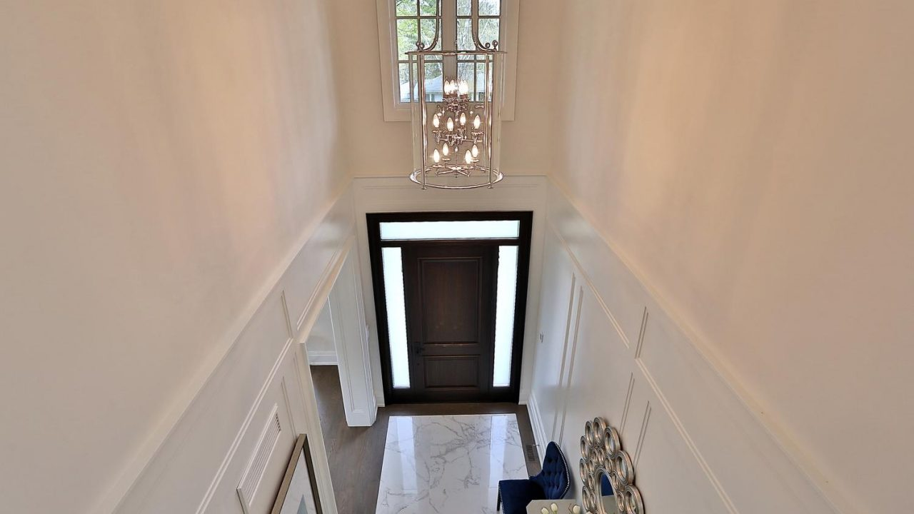 Double Height Entrance